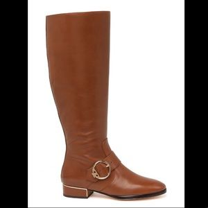 TORY BURCH Sophia LEATHER Buckles Riding Boots NEW